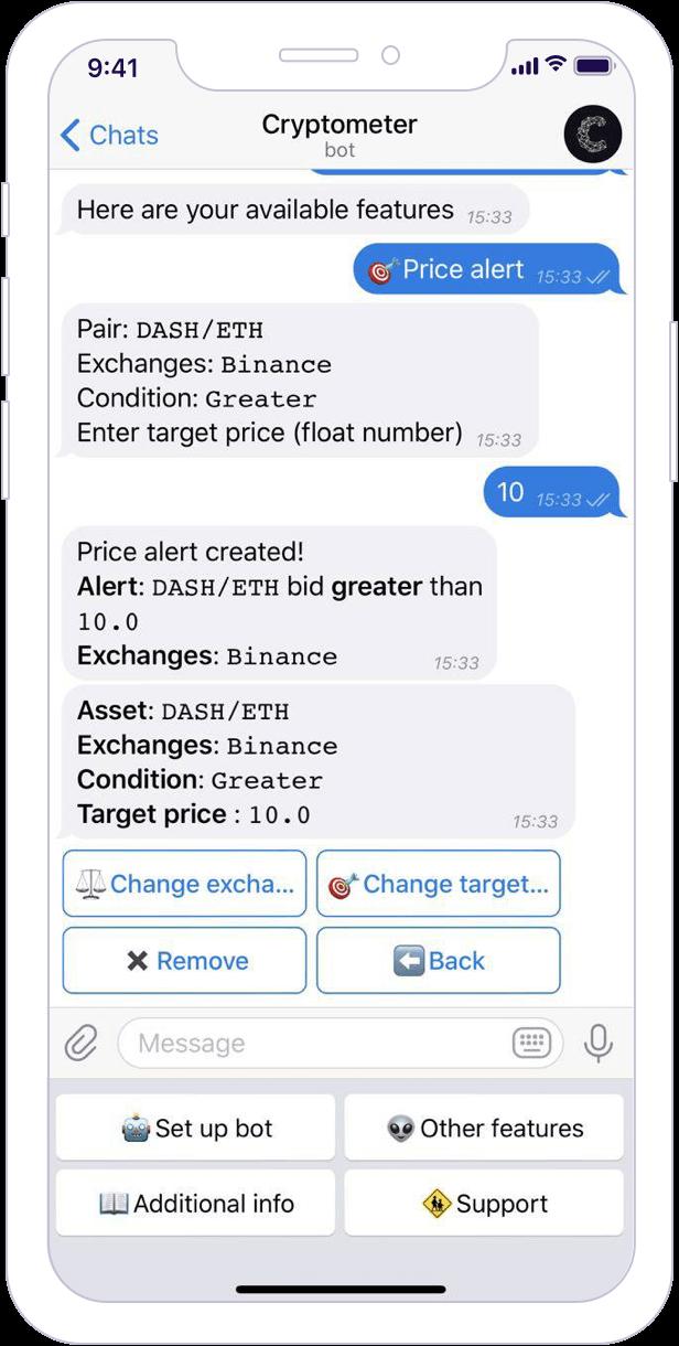 bitcoin telegram bot