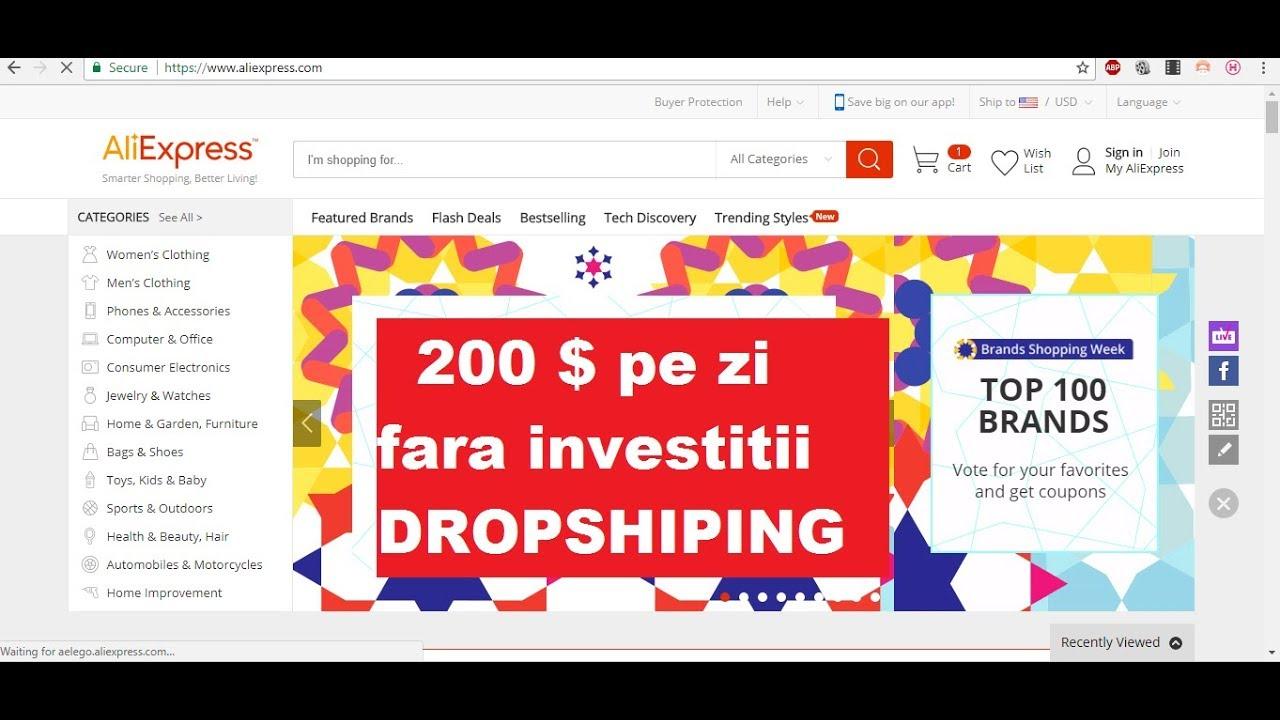 investiții de la 1 dolar pe internet)
