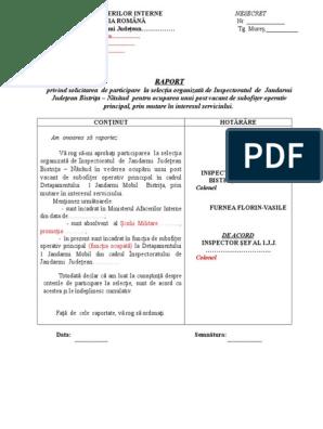 raport de participare la opțiuni)