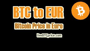 Bitcoin La Euro Rata de schimb