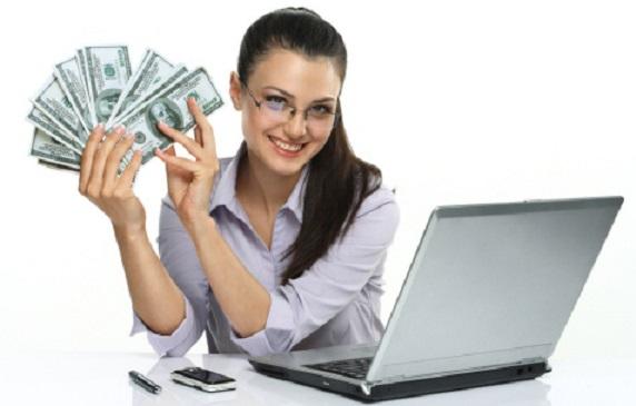 câștigând bani folosind bani pe internet)
