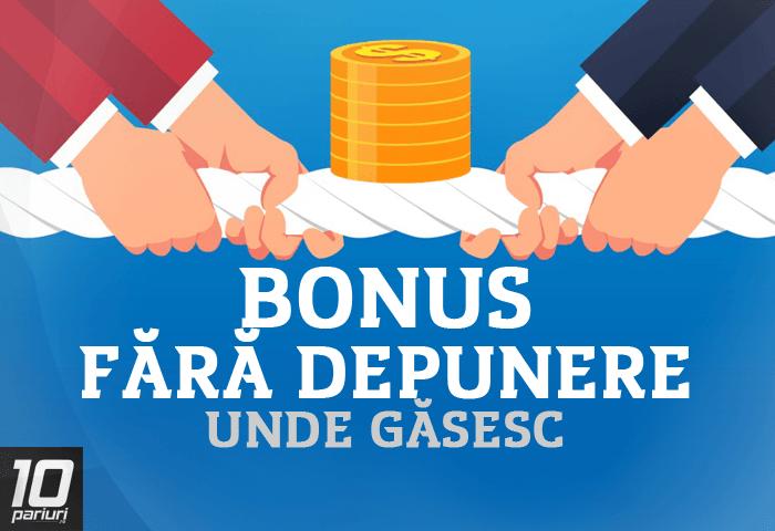 bonusuri fără opțiuni de depunere