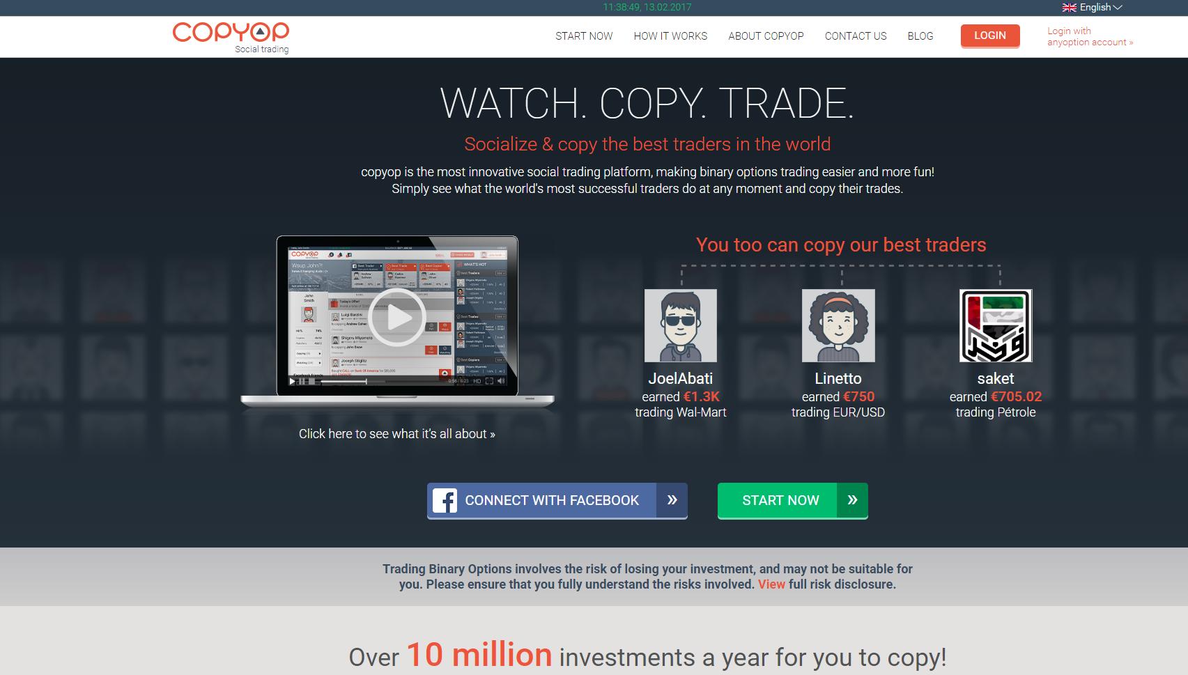 Instrucțiuni pentru copiere tranzacțiilor de comercianți profesioniști cu experiență