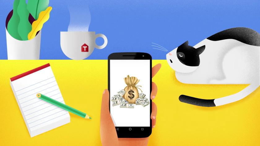 cât de ușor este să câștigi bani de pe telefonul mobil