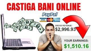 începe să câștigi bani pe internet fără investiții