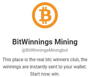 obțineți gratuit bitcoin bot Telegram 2020