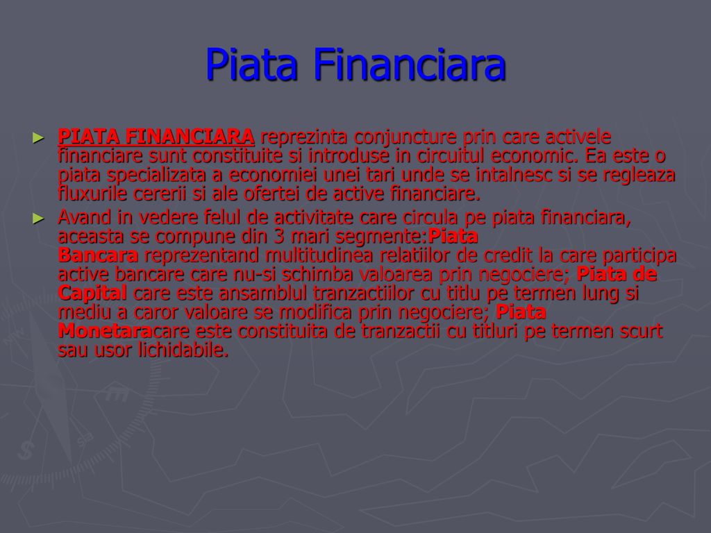 investind pe piața financiară)