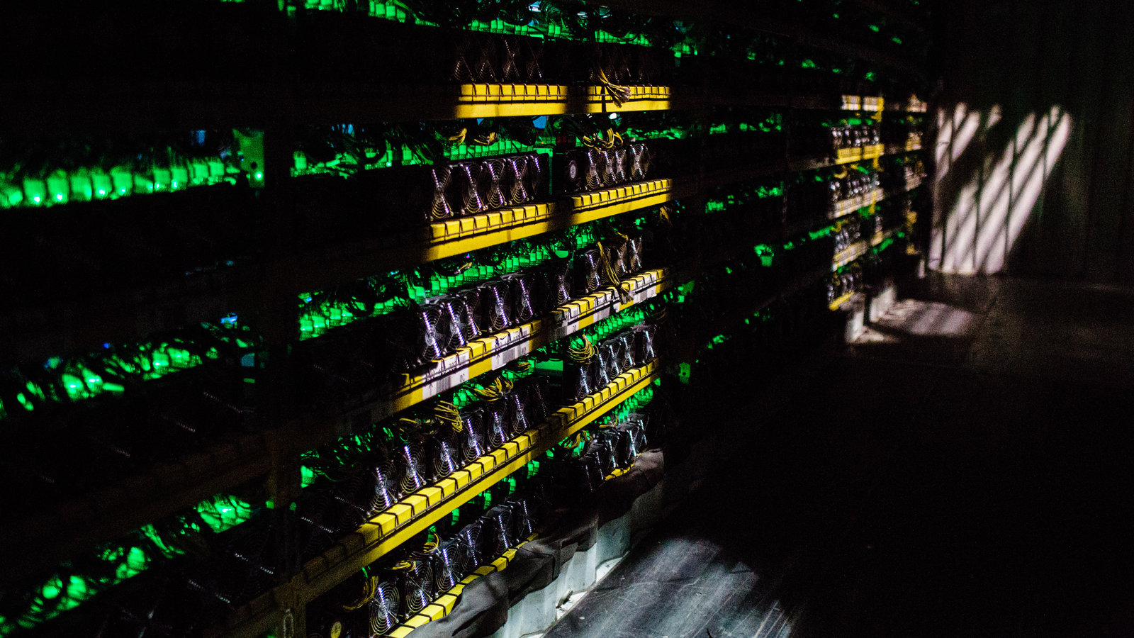 Mașină Bitcoin în Alberta, Canada