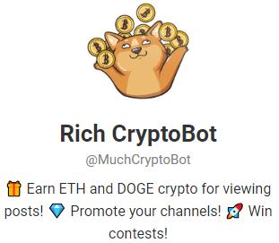 obțineți gratuit bitcoin bot Telegram 2020)