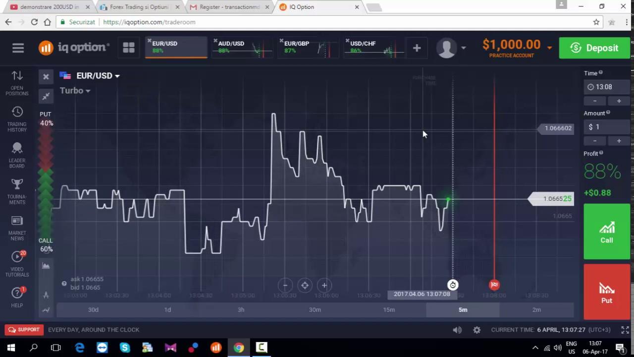 opțiuni binare de tranzacționare demo de 60 de secunde)