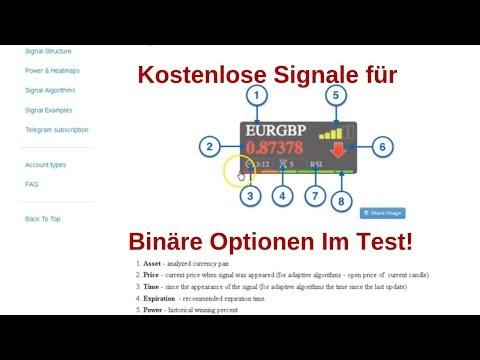 semnale algobit pentru opțiuni binare