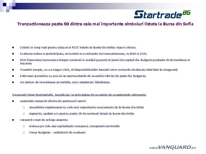 tranzacționarea pe internet pe piețele bursiere și financiare